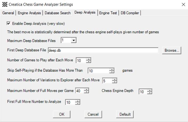 Customize Creatica Chess Game Analyzer